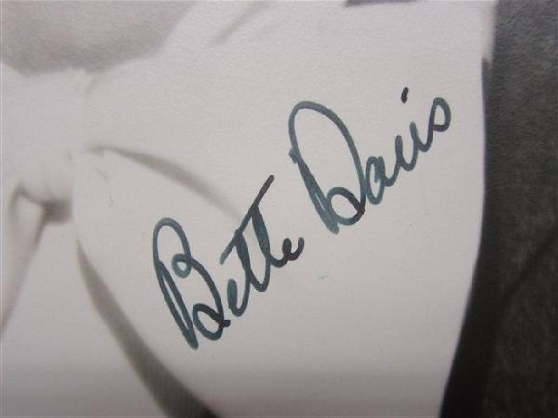Collection Of Twenty-Two Autographs, Bette Davis - 8