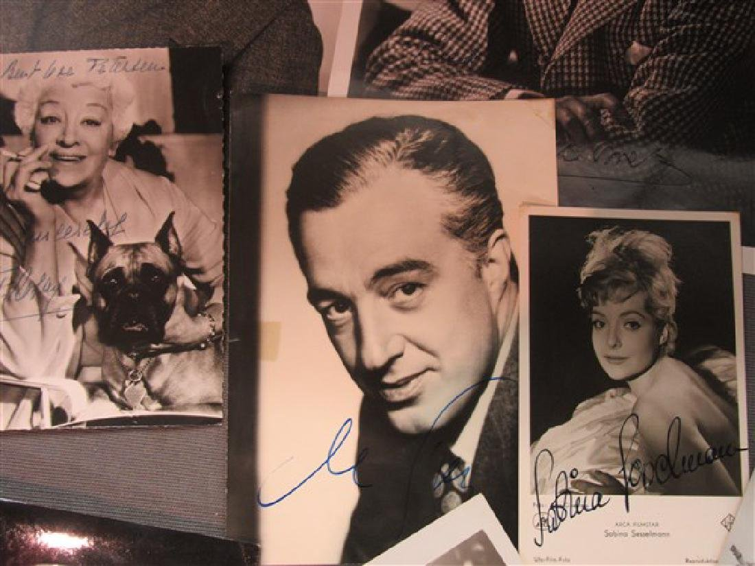 Twenty Piece Compiled Collection Of Autographs - 3