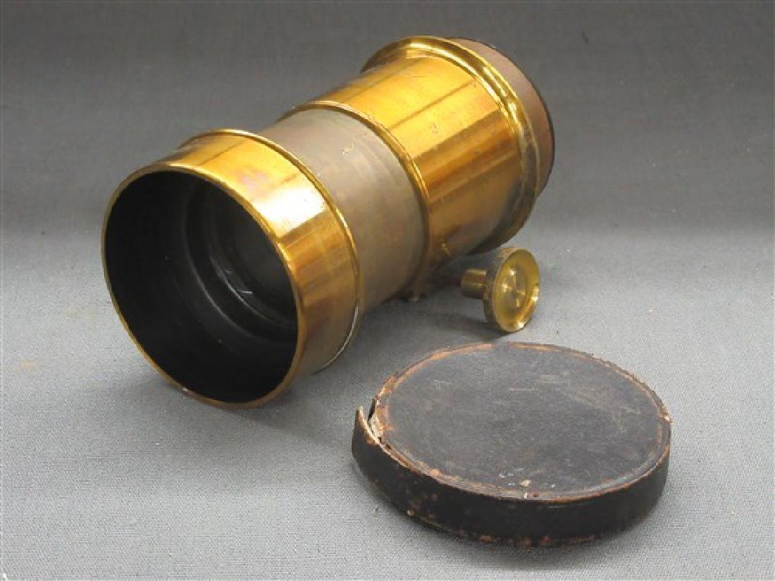 Darlot Petzval Brass Lens