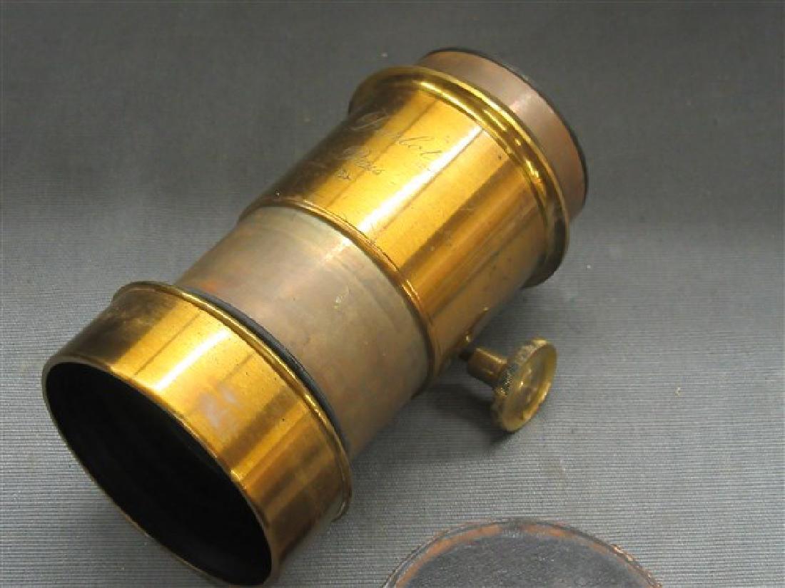 Darlot Petzval Brass Lens - 2