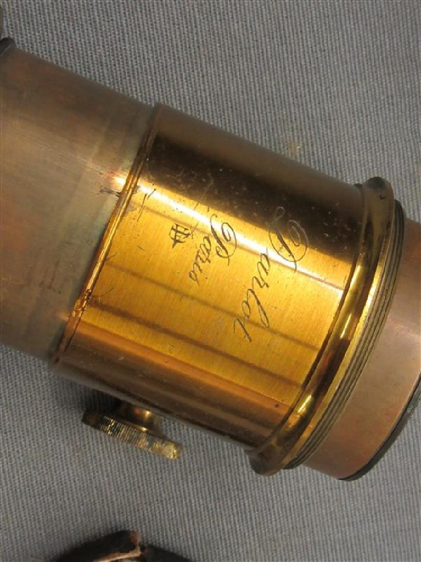 Darlot Petzval Brass Lens - 3