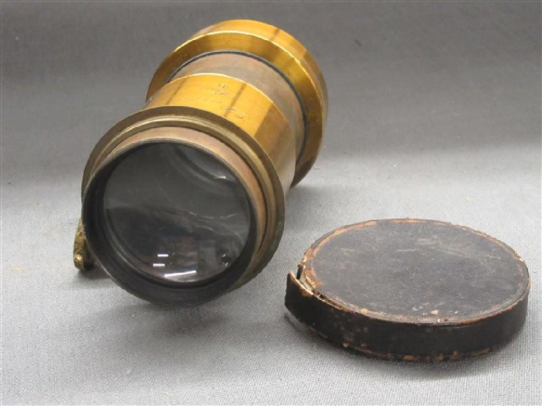Darlot Petzval Brass Lens - 4