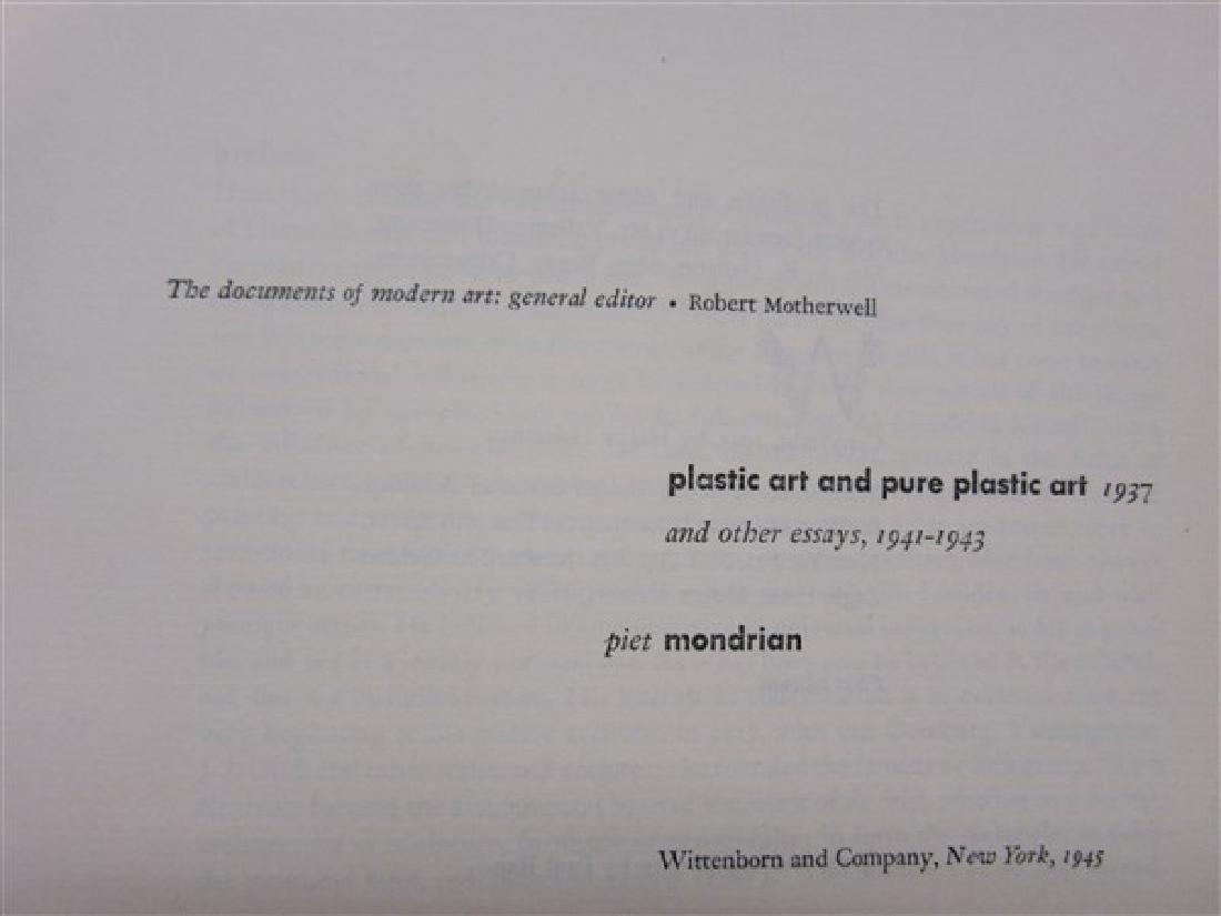 Piet Mondrian, Plastic Art And Pure Plastic Art 1945 - 2
