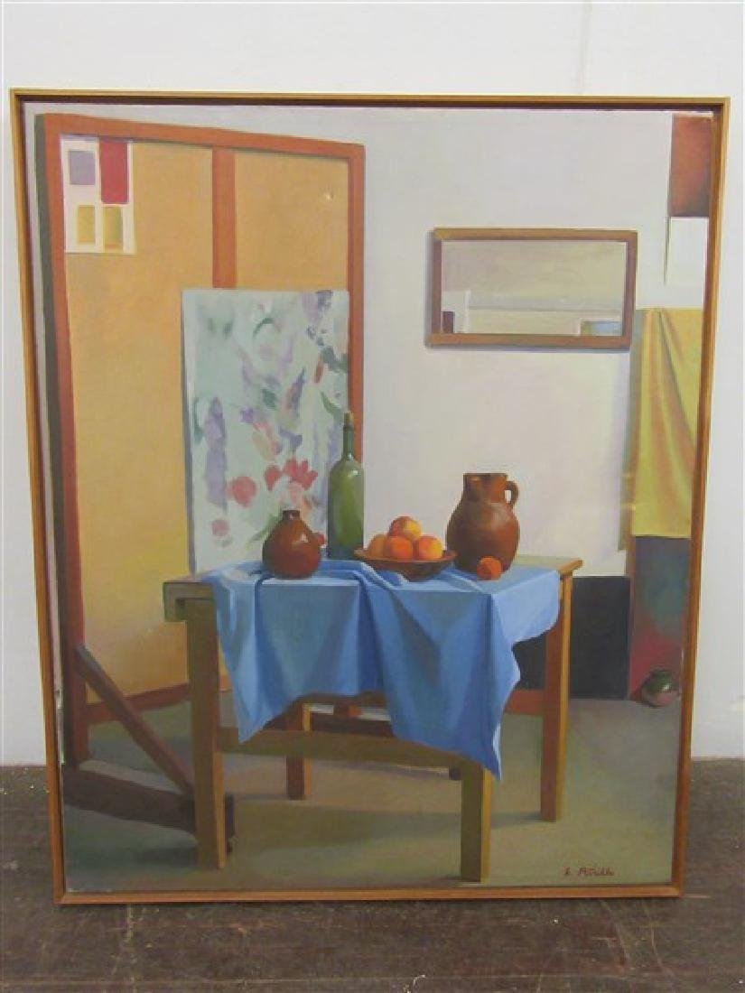 Leonard Petrillo (American, 20th C.) Oil Painting