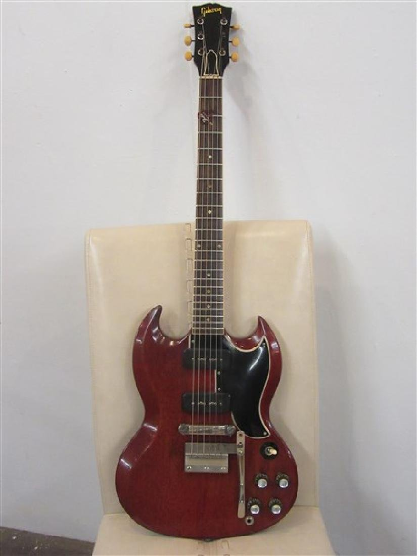 1963 Gibson Electric Guitar SGS RED