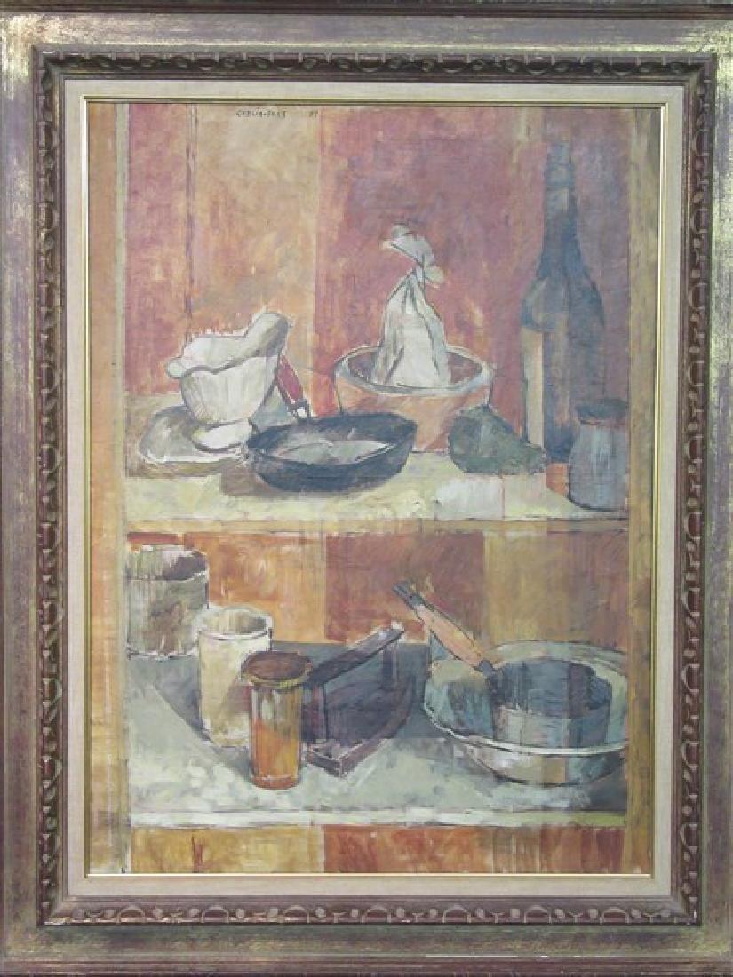 "Pierre Garcia Fons (French, b. 1928) "" Les Etageres"""
