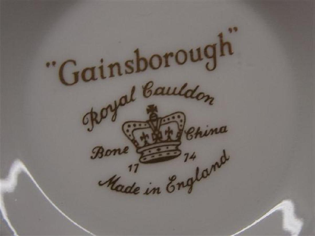 "Royal Cauldon English China Service ""Gainsborough"" - 4"