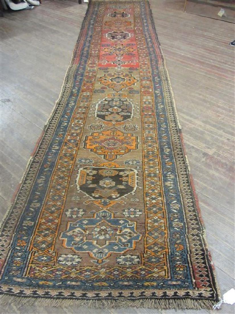 Northwest Persian Wool  Runner 15ft L