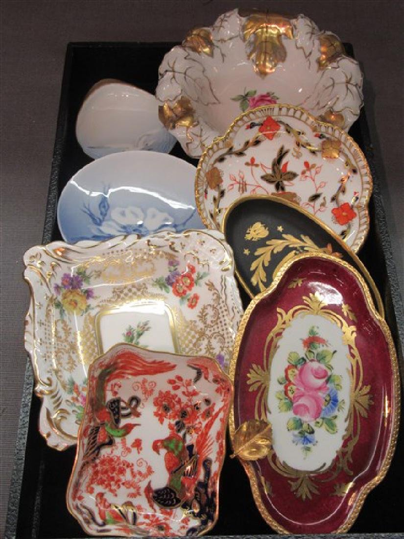 A Compiled Grouping of Porcelain Dishes