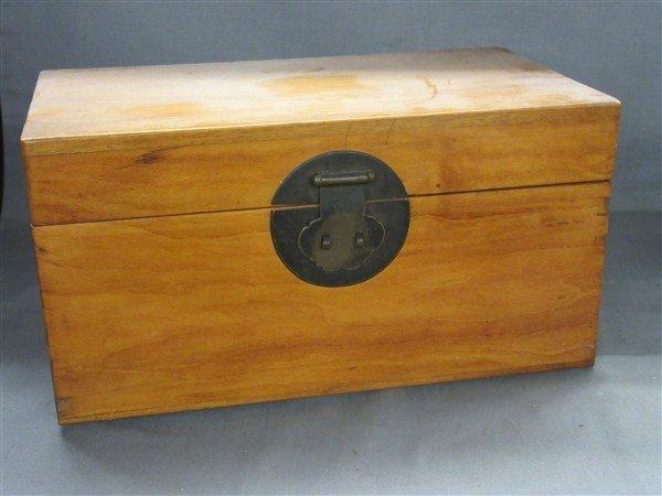 Chinese Camphor Wood Box c.1900