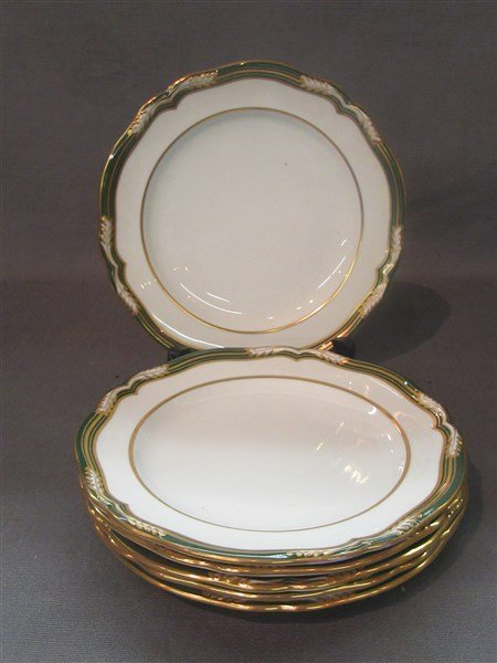 Spode For Tiffany & Co. Luncheon Plates