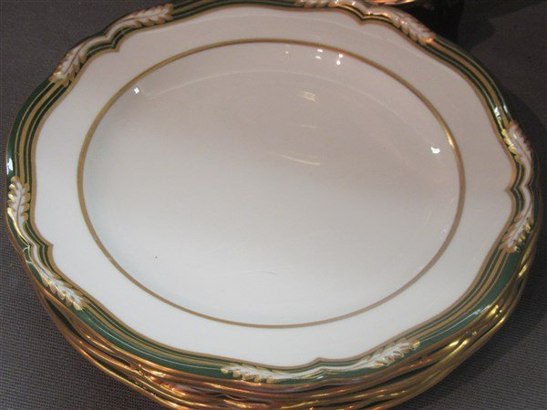 Spode For Tiffany & Co. Luncheon Plates - 2
