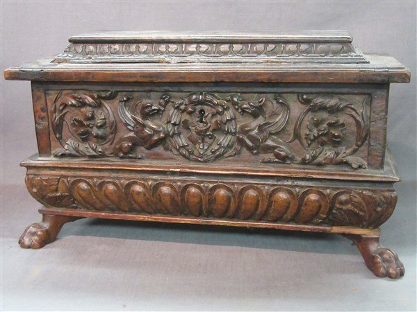 16th Century Casone Era Italian Miniature Chest