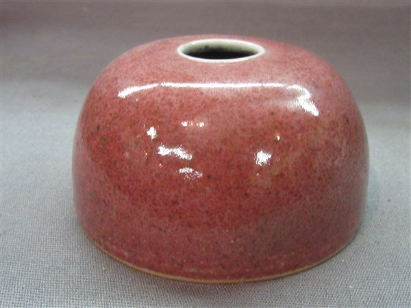 Chinese Peach Bloom Porcelain Vase