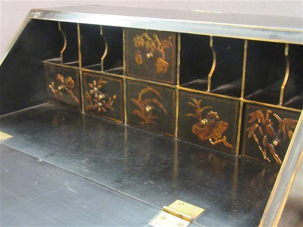 Chinese Lacquer Jewelry Chest - 4