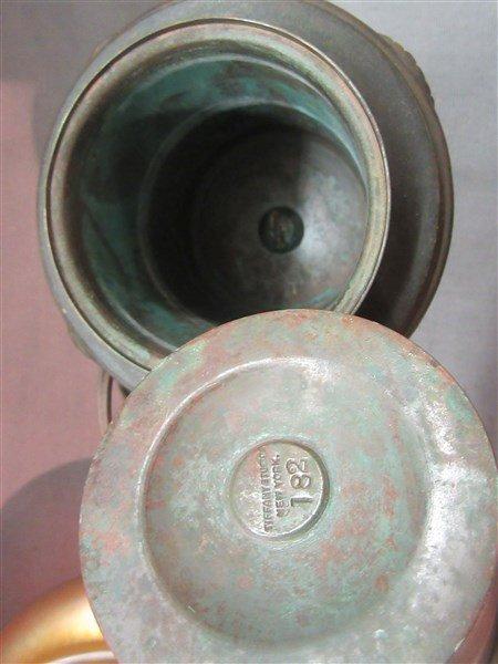 Tiffany Studios Bronze Table Lamp - 7