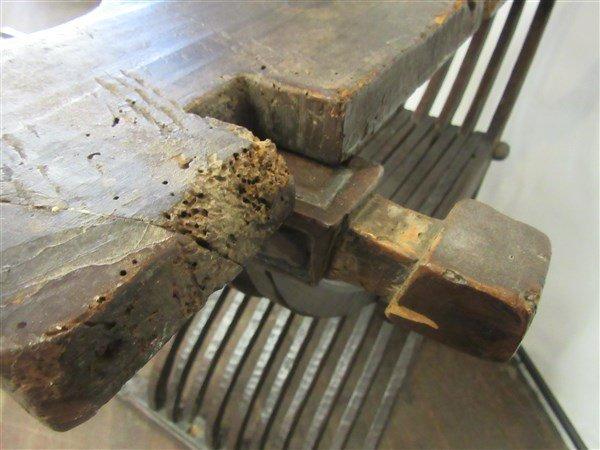 18th/19th C. Italian Savonarola Arm Chair - 5
