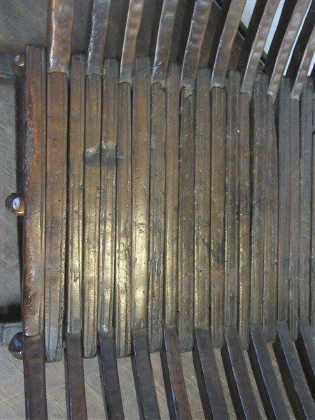 18th/19th C. Italian Savonarola Arm Chair - 6