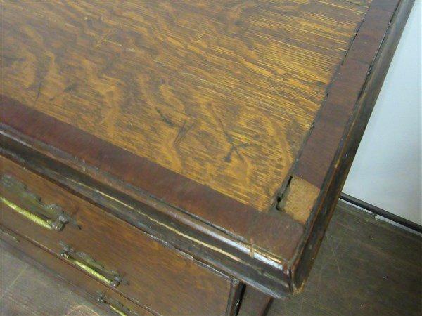 George III English Oak  Dresser - 2