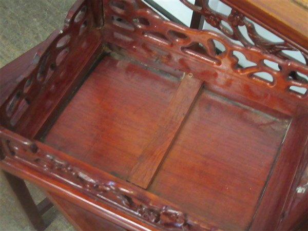 Chinese Rosewood Nesting Tables - 3