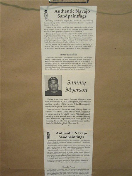 Sammy Myerson Navaho Indian Sand Painting - 3