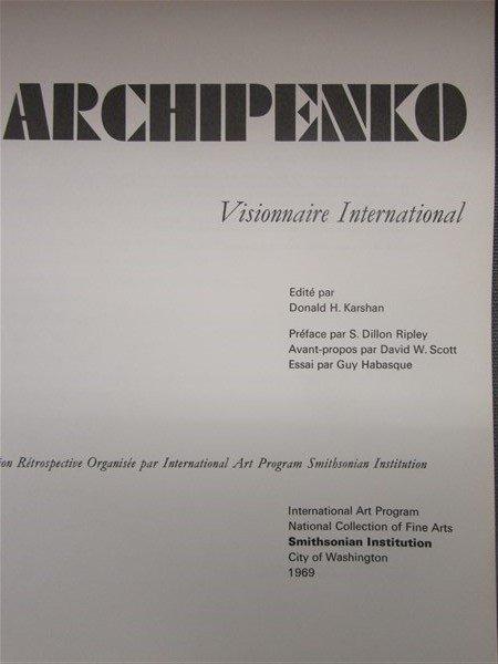 Alexander Archipenko 1st Edition 1969 - 2
