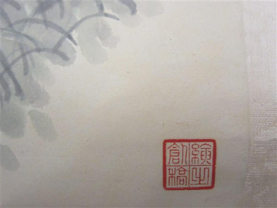 Four (4) Chinese Hanging Scrolls - 7