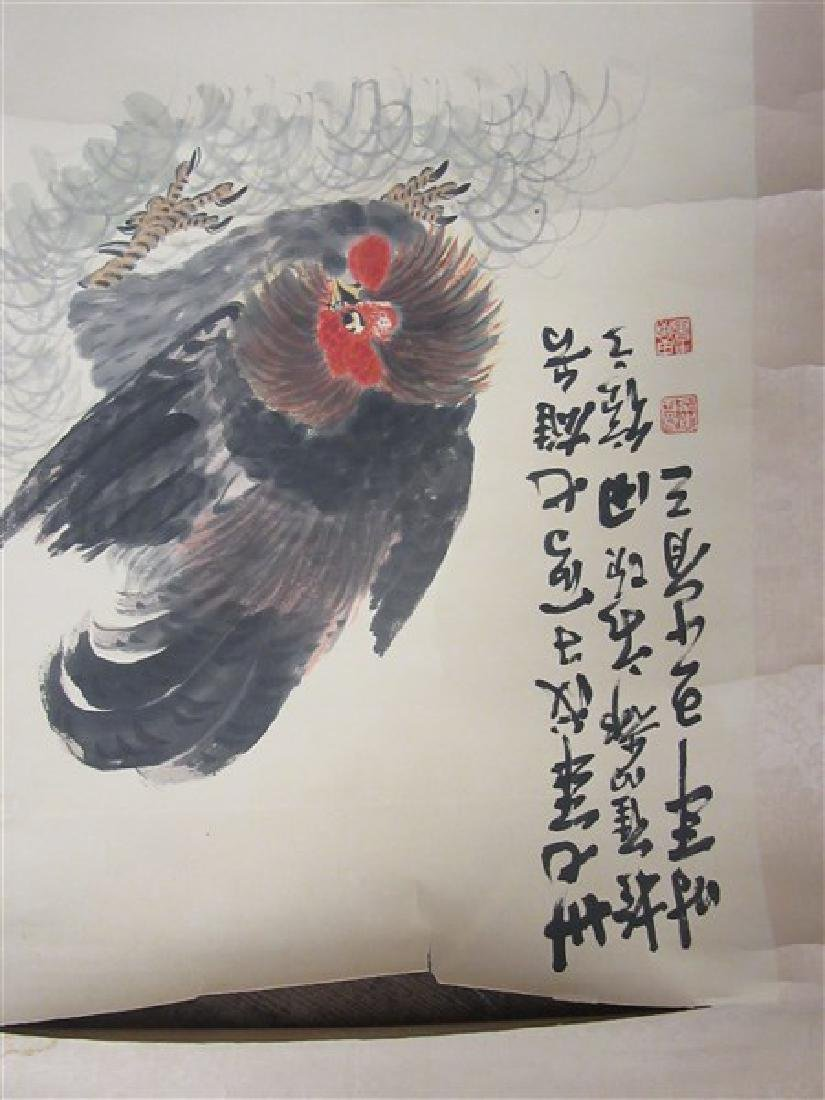 Four (4) Chinese Hanging Scrolls - 8