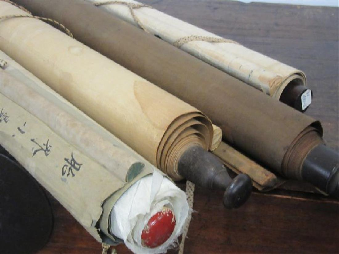 Four (4) Chinese Hanging Scrolls - 2
