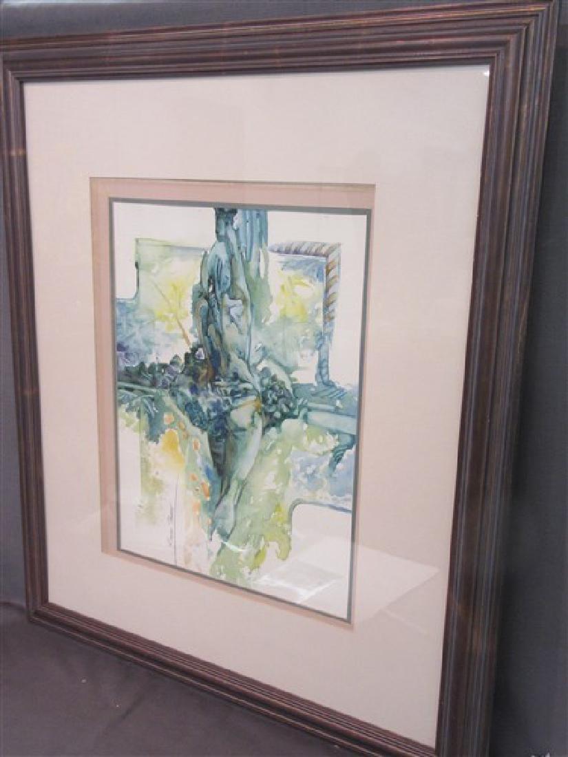 "Rossen Tonkov ""Balanced Motion"" Watercolor - 2"