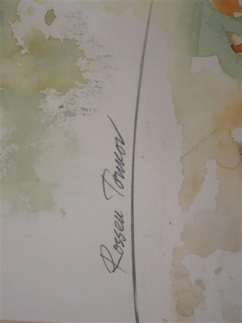 "Rossen Tonkov ""Balanced Motion"" Watercolor - 3"