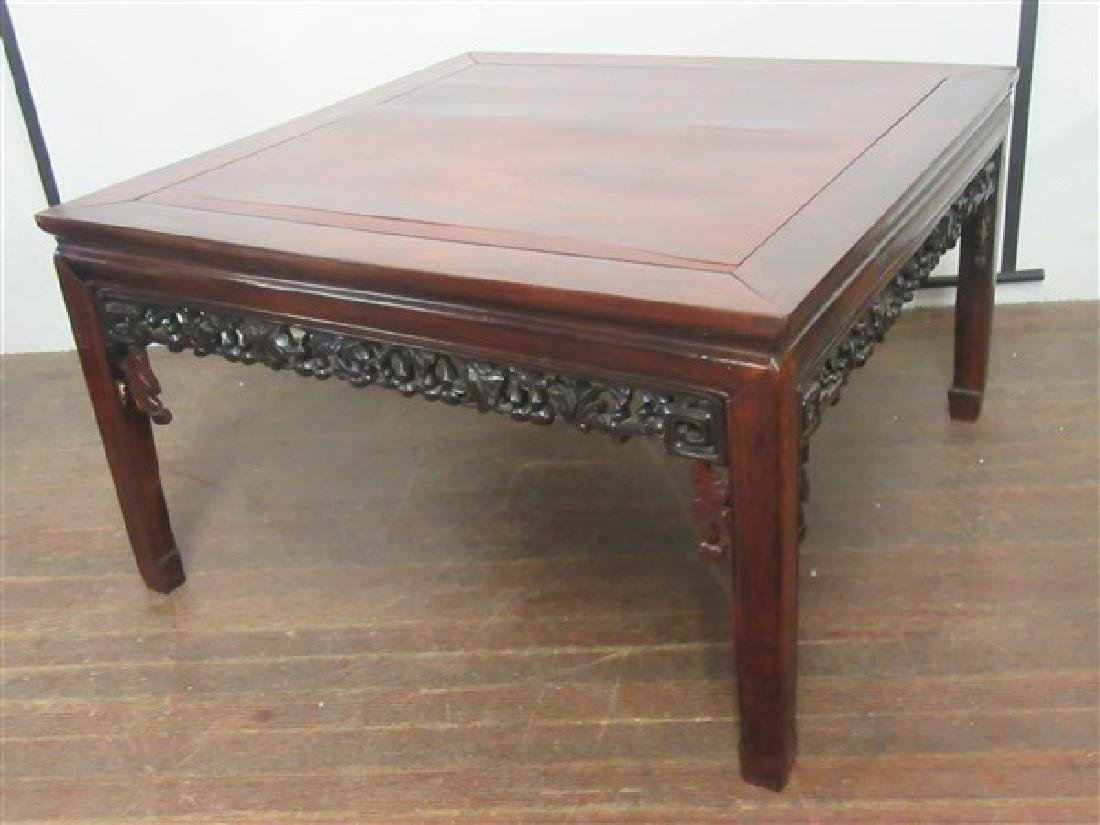 19th c. Chinese Rosewood Low Table