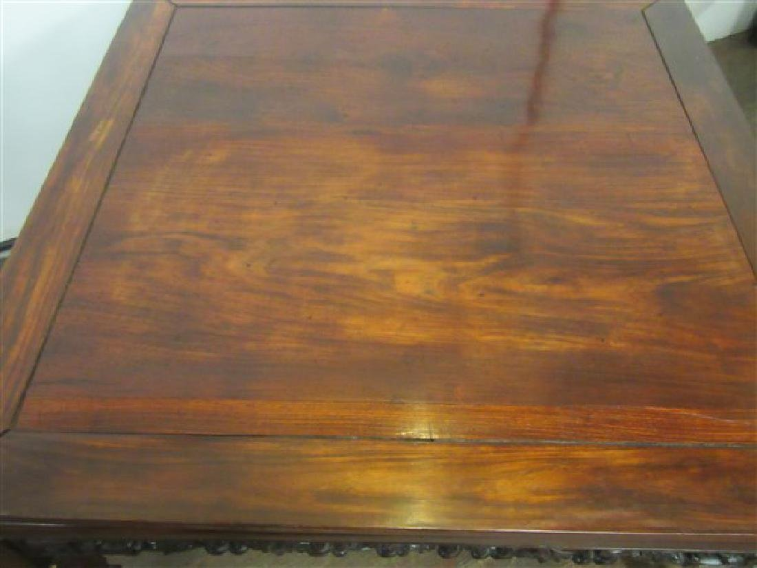 19th c. Chinese Rosewood Low Table - 4
