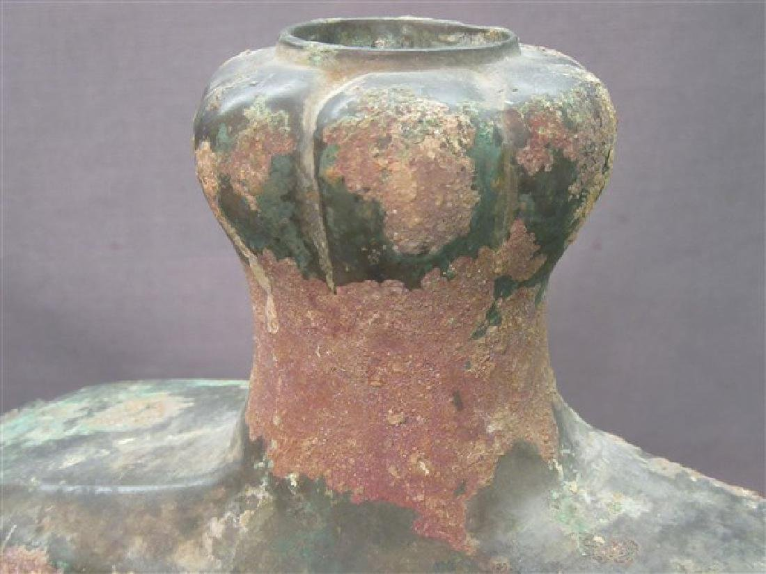 Chinese Warring States Bronze Water Vessel - 7