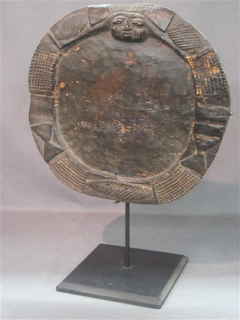 African Yoruba Tribe Divination Wooden Board