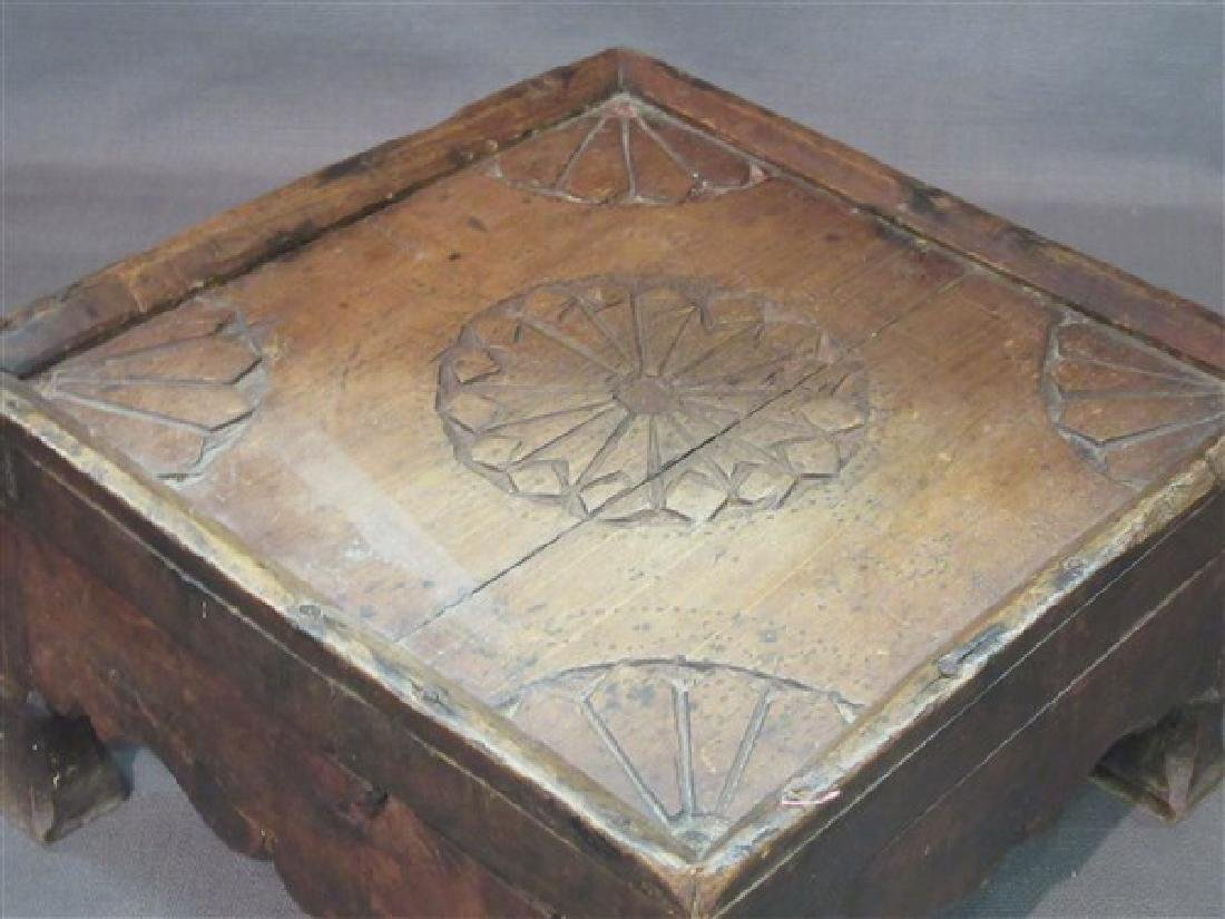18th/19th c. French Country Foot Stool - 2
