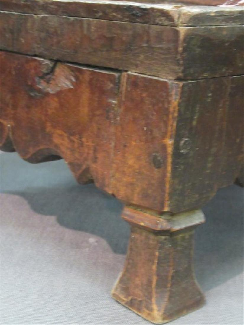 18th/19th c. French Country Foot Stool - 3