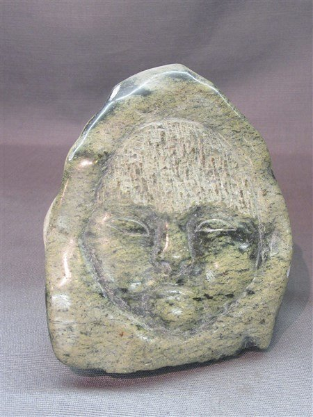 Canadian Eskimo Stone Carving - 2