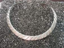 Los Ballesteros Taxco Mexican Sterling Silver Choker