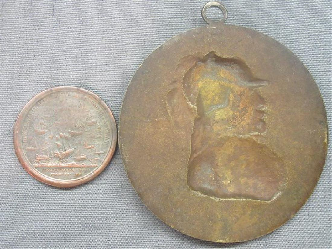 Two (2) Bronze Medallions - 2