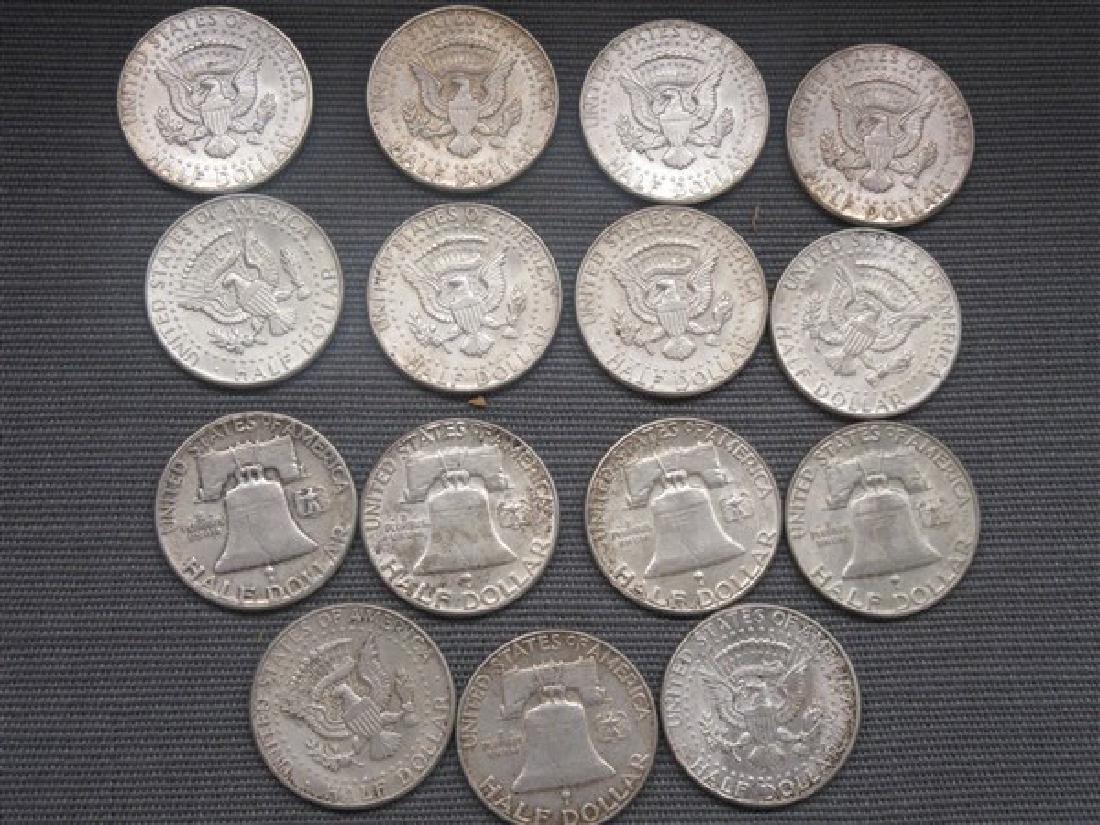 Fifteen (15) Silver Half Dollars - 2