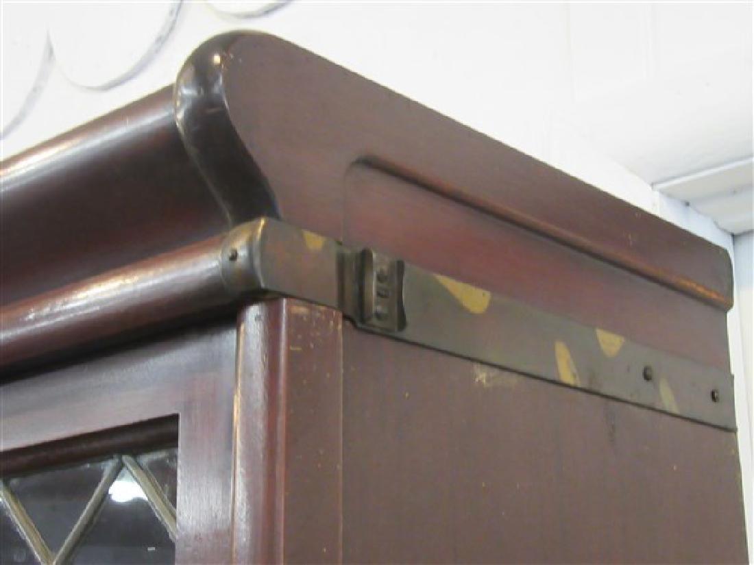 Globe Wernicke Five Stack Mahogany Bookcase - 7