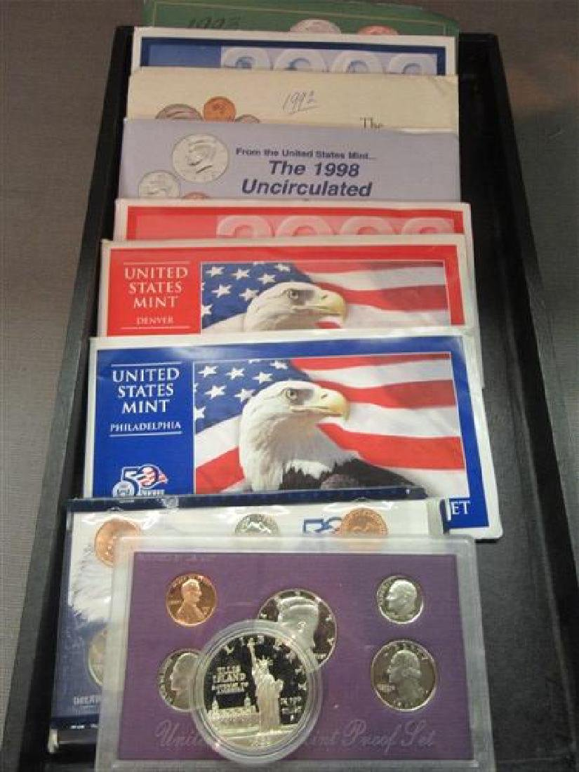 United States Uncirculated Proof Sets