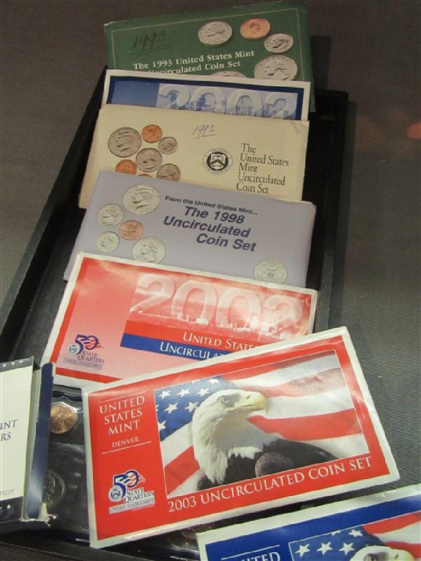 United States Uncirculated Proof Sets - 2
