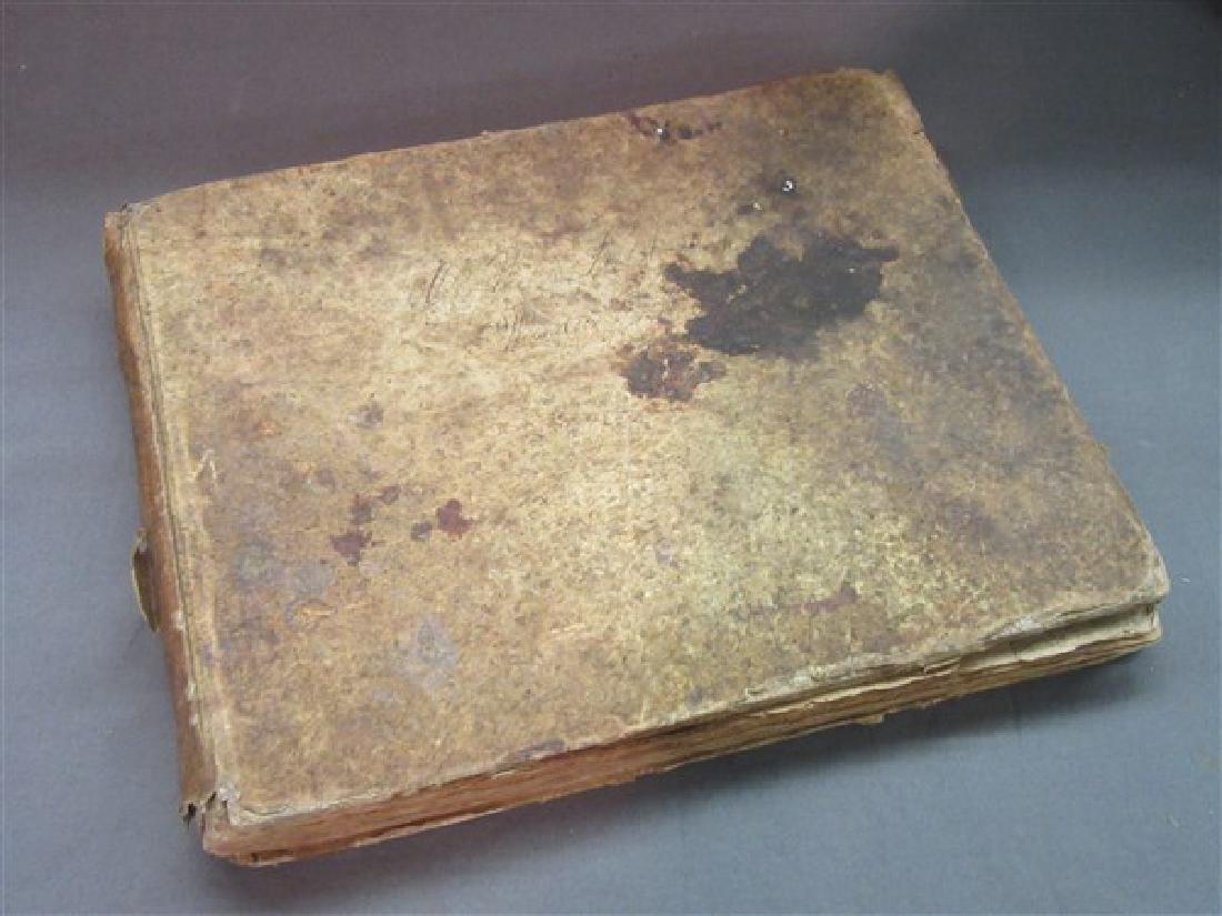 1752 German Composers Hymn Book