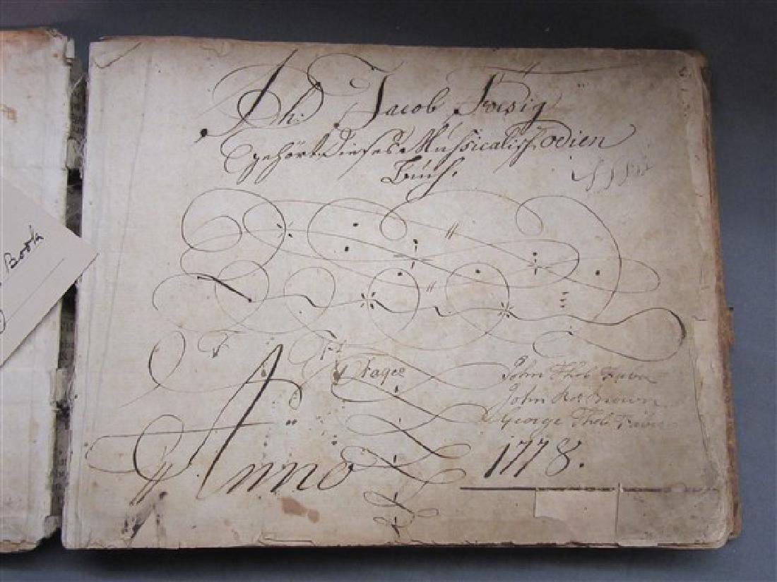 1752 German Composers Hymn Book - 2