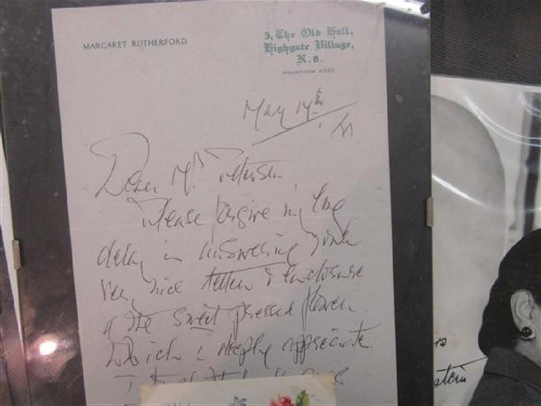 Vintage Autograph Lot - 6