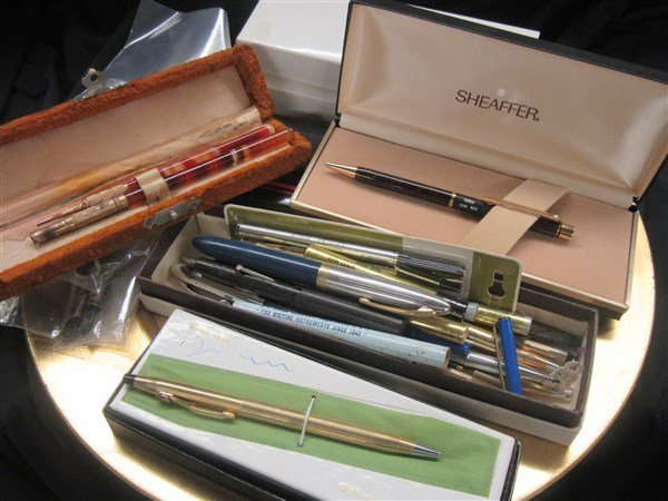 Collection of Cross, Sheaffer and Misc. Pens