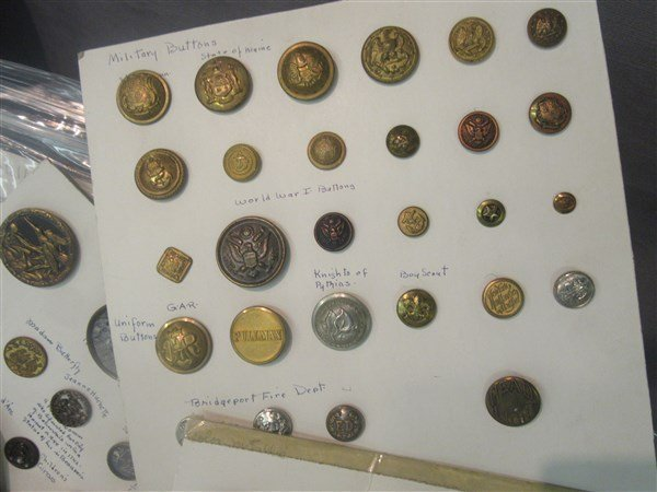 Victorian & Military Button Collection - 3