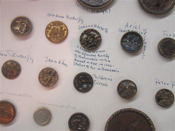 Victorian & Military Button Collection - 8